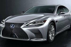 Cận cảnh Lexus LS 2021 sắp ra mắt