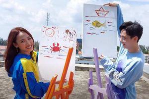 Fan cười té ghế xem CARA và Noway trổ tài họa sĩ ở hậu trường MV 'This Way'