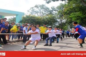 Đẩy mạnh hoạt động thể dục - thể thao trong đoàn viên, thanh niên