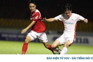 Bùi Tiến Dũng xé lưới Than Quảng Ninh phút bù giờ, Viettel vào chung kết Cúp Quốc gia