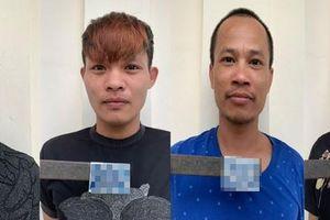Bắt nhóm đối tượng cướp tài sản của nam thanh niên