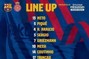 Messi lập cú đúp trong trận thắng 3-1 của Barca