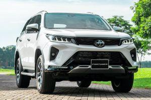 Toyota Fortuner 2021 được ra mắt ở Việt Nam, giá cao nhất 1,434 tỷ