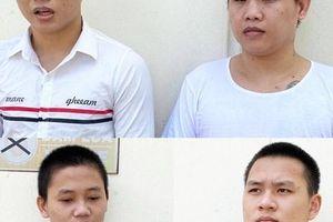 Chân dung 4 tên cướp giật điện thoại ở Bình Tân - Bến Lức