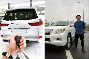 Hai thiếu gia Hà thành từng khoe 'tậu' Lexus LX 570 là ai?
