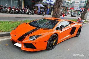 Ngắm siêu xe Lamborghini Aventador LP700-4 độ khủng ở Sài Gòn