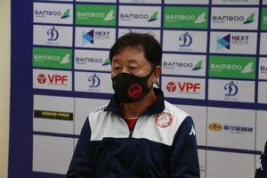 CLB TPHCM thảm bại 1-5, HLV Chung Hae-seong nói gì?
