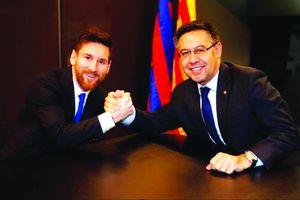 Barcelona gây sức ép lên Messi