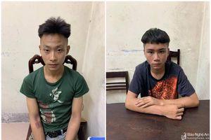 Băng nhóm chuyên sử dụng dao, kiếm cướp tài sản ven đê Hưng Hòa thành phố Vinh