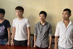 Bắt giữ nhóm thanh niên có vũ khí cưỡng đoạt tiền dọc đường Hồ Chí Minh