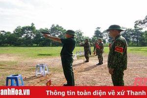 100% sỹ quan, quân nhân chuyên nghiệp Bộ CHQS tỉnh Thanh Hóa được kiểm tra bắn đạn thật