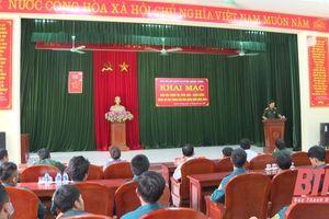 Quảng Xương: Huấn luyện Dân quân biển sát tình hình thực tế địa phương