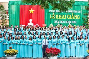 Trường THPT Vũng Tàu đạt giải Nhất cuộc thi 'Nụ cười ngày khai giảng'