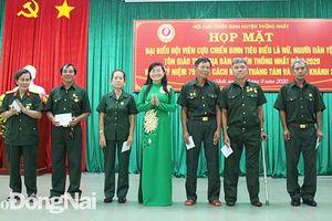Họp mặt hội viên Hội Cựu chiến binh tiêu biểu là nữ, đồng bào dân tộc ít người và tôn giáo