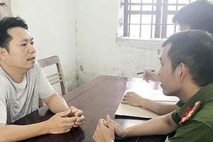Bắt đối tượng cho vay lãi nặng ở Nghệ An