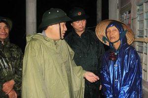 Sơ tán hơn 12.000 người dân tại Quảng Trị trong đêm để tránh bão