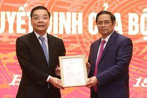 Ông Chu Ngọc Anh nói gì khi về nhận nhiệm vụ tại TP Hà Nội