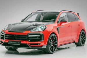 Porsche Cayenne độ Mansory - tăng công suất, nâng cấp ngoại hình