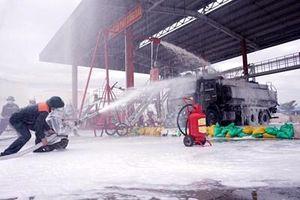 Tổng Công ty Xăng dầu Quân đội diễn tập phòng chống cháy nổ và cứu hộ, cứu nạn