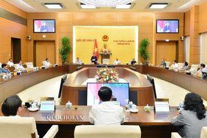 Bế mạc Phiên họp 48 Ủy ban Thường vụ Quốc hội