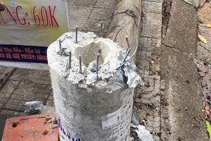 Điện lực Đà Nẵng lý giải về bình luận cột điện 'không lõi thép'