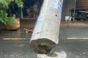 Trụ điện 'không lõi thép' gây 'bão' tại Đà Nẵng