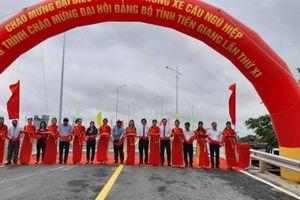 Thông xe cầu Ngũ Hiệp, người dân Tiền Giang không còn cảnh lụy đò