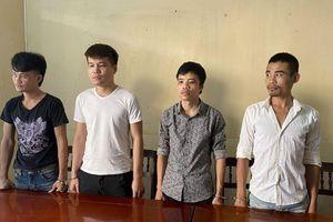 Thanh Hóa: Cưỡng đoạt tài sản người dân, 4 đối tượng bị bắt giam