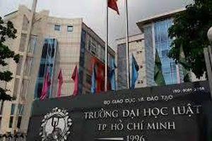 TP HCM: Đại học Luật chính thức công bố ngưỡng điểm sàn 2020