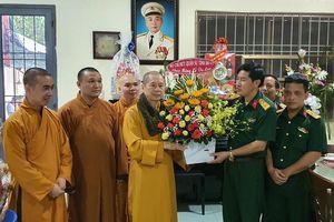 Lực lượng vũ trang đồng hành cùng đồng bào tôn giáo