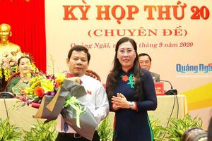 Thủ tướng Chính phủ phê chuẩn kết quả bầu chức vụ Chủ tịch UBND tỉnh Quảng Ngãi