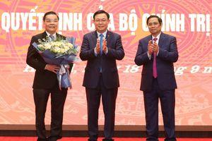 Chân dung ông Chu Ngọc Anh - Tân Phó Bí thư Thành ủy Hà Nội