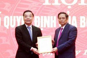 Bộ Chính trị phân công ông Chu Ngọc Anh đảm nhận chức vụ Phó Bí thư Thành ủy Hà Nội