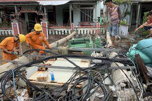 Điện lực Thừa Thiên - Huế nỗ lực khắc phục sự cố do bão số 5