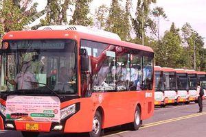 Cần Thơ: Khai trương 5 tuyến xe buýt hiện đại có máy lạnh, wifi