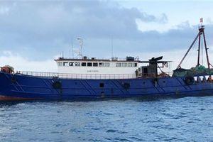Bắt tàu cá TQ khai thác trái phép: Thuyền trưởng nhận lỗi
