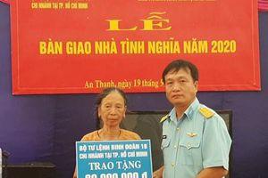 Bộ tư lệnh Binh đoàn 18 phối hợp bàn giao nhà tình nghĩa tặng vợ liệt sĩ