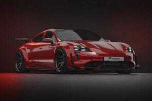 Prior Design độ thân rộng cho siêu xe điện Porsche Taycan
