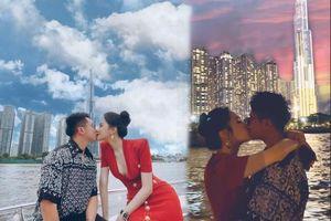 Fan 'đảo điên' trước loạt ảnh khóa môi 'ngọt lịm' của Hương Giang - Matt Liu