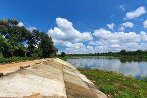 Cận cảnh dự án cải tạo hồ, huyện dối tỉnh