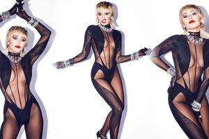 'Gái hư' Miley Cyrus tung ảnh kiệm vải táo bạo 'nóng mắt'