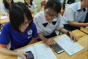 Học sinh được sử dụng điện thoại trong lớp để phục vụ học tập