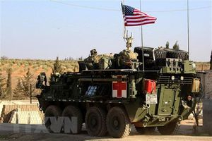 Quân đội Mỹ lại tăng cường triển khai quân sự ở Đông Bắc Syria
