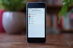 Đây là tất cả các trình duyệt iOS 14 cho phép người dùng iPhone chọn làm mặc định