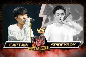2 'siêu anh hùng' King Of Rap đấu 1 loại 1: SpideyBoy bại trận trước Captain