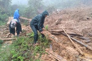 Nghệ An: Mưa lũ gây cô lập một số bản giáp biên giới