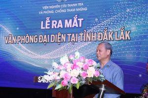 Đắk Lắk: Viện Nghiên cứu Thanh tra và Phòng, chống tham nhũng công bố văn phòng tại Buôn Ma Thuột