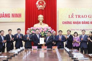 Quảng Ninh: Cấp giấy chứng nhận đăng ký đầu tư trong chưa đầy 1 ngày