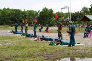 Lực lượng vũ trang huyện Đầm Hà: Sôi nổi phong trào thi đua Quyết thắng