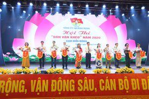Khai mạc Hội thi Dân vận khéo tỉnh Quảng Ninh năm 2020 cụm thi miền Đông